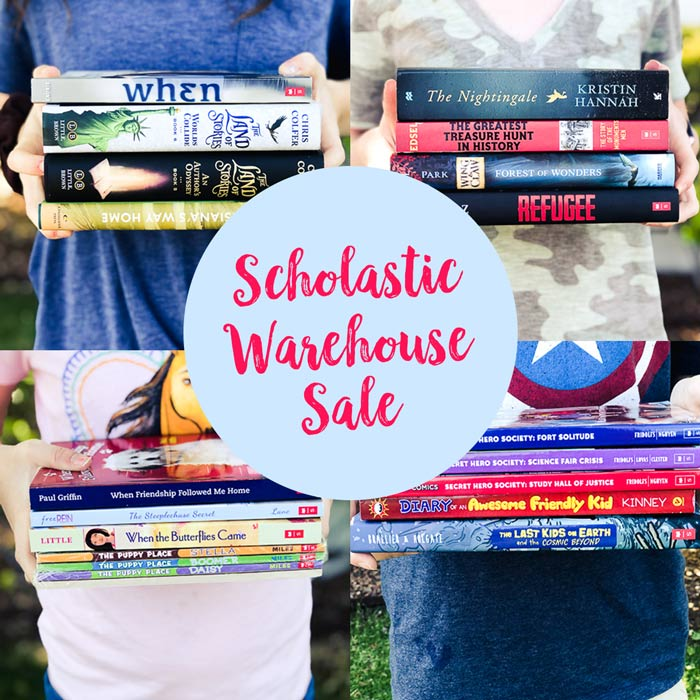 scholastic book clubs warehouse sales