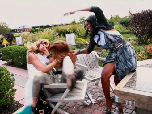 Love & Hip Hop Fight, Kimbella. Erica