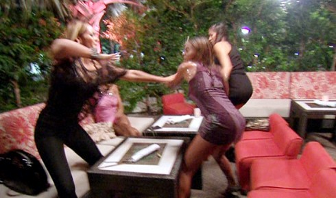 bball wives fight, basketball wives miami fight