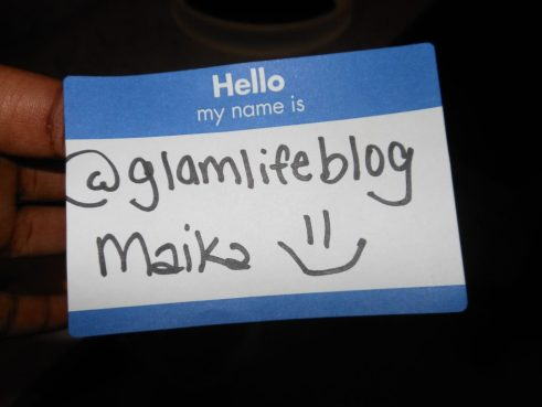 Name tag #GGTweetup