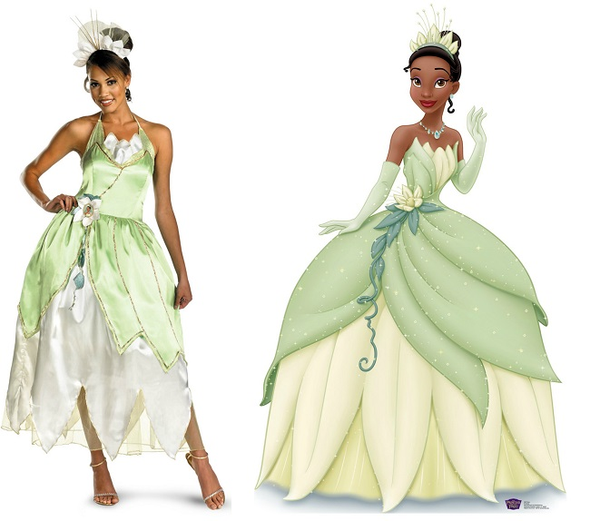 tiana final  sc 1 st  Daily Ellement & 6 Black Girl Friendly Halloween Costumes - Daily Ellement