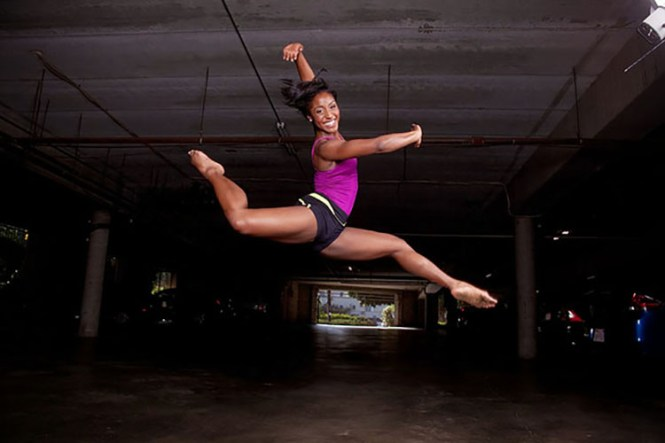 Saleemah E Knight, dance, attitude jete, performer, art, dancer, USC, Kaufman School