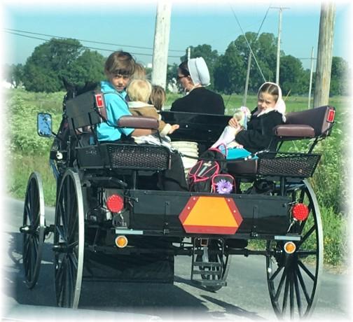 Amish family 6/8/17