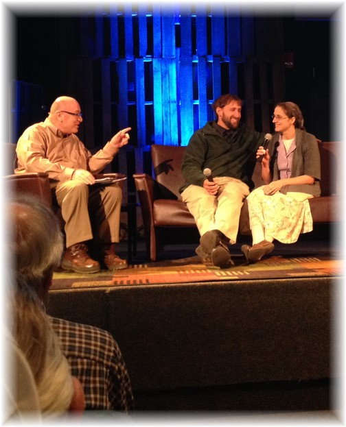 Charles Morris interviewing former Amish couple 11-15-14