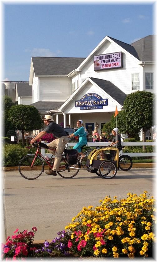 Shipshewana Amish bikes 8/7/14