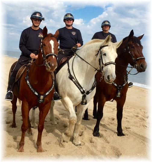 Lancaster City Police Mounted Unit.