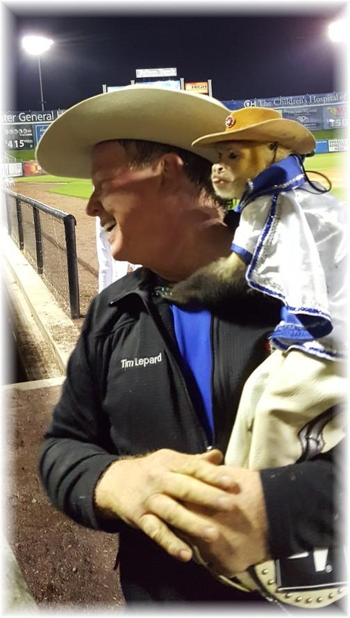 Cowboy monkey 5/7/16