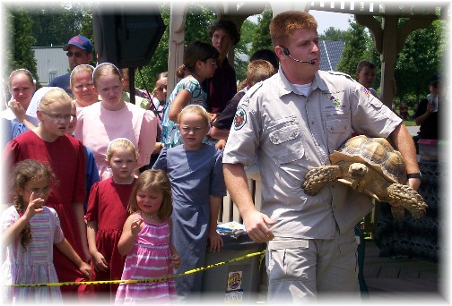 "Jesse Rothacker of ""Forgotten Friends Reptile Sanctuary"""