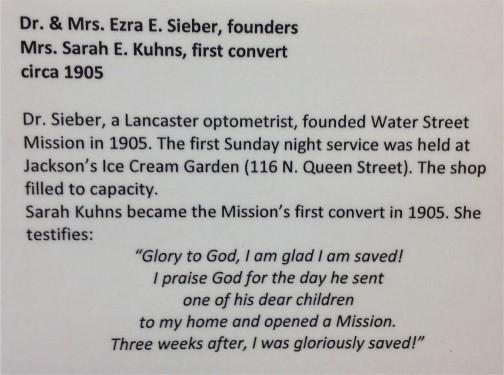 1st Water Street Mission convert