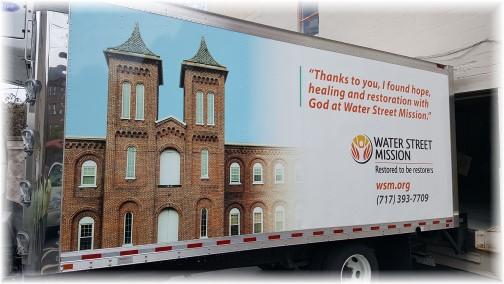 Water Street mission truck 4/20/17