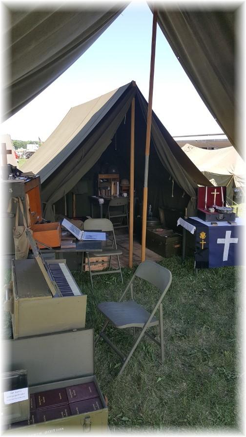 Chaplain John Uhler's WW2 field demo 6/3/17