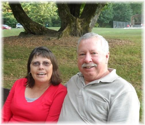 Jim and Donna at JK picnic 9/7/13