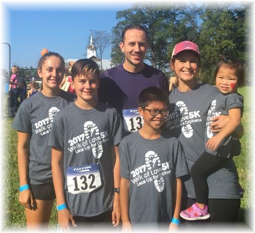 Sheldon Miller family 9/16/17