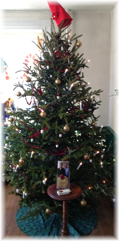 Poole Forge ironmaster's mansion Christmas tree 12/7/14