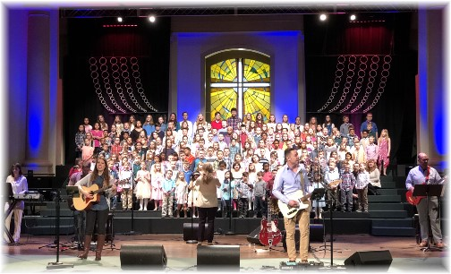 Calvary Church Children's Choir 4/8/18