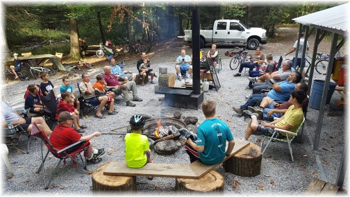 Men and Boys campout service 09/11/16