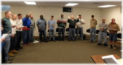 Faith Community men's retreat 5/18/13