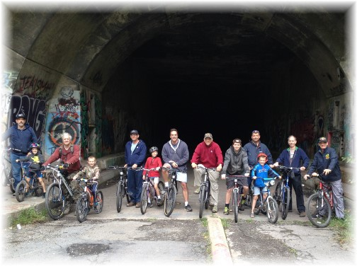 Abandoned Sideling Hill Tunnel ride 2015