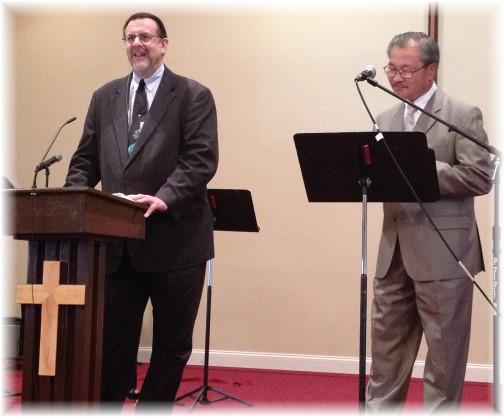 Preaching at Vietnamese church 6/29/14