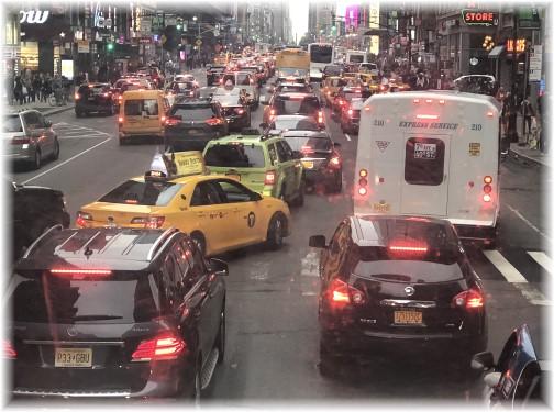 NYC traffic 5/13/18