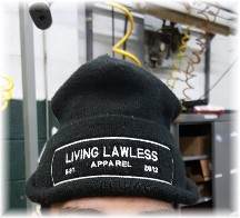 Living Lawless Apparel stocking cap