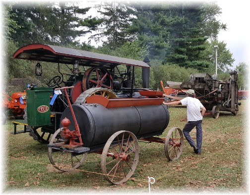 Antique equipment at Lampeter Fair 9/28/16