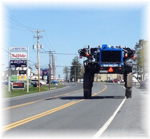 New Holland sprayer 4/21/14