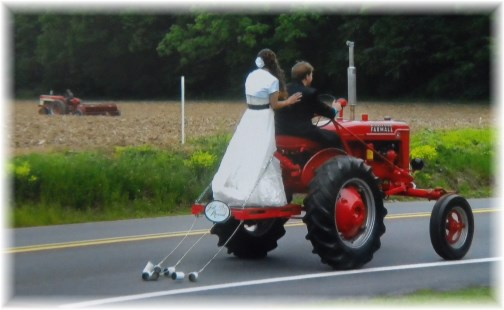 Tractor limo