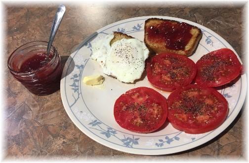 Fresh home-grown tomato 8/11/17