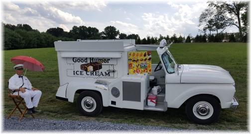 Good Humor restored ice cream truck