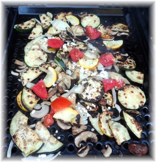 Grilled vegetables 8/4/13