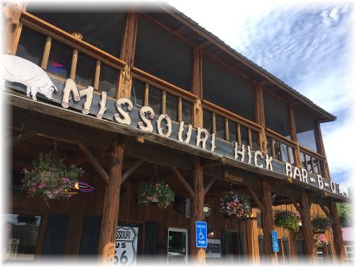 Missouri Hick BBQ, Cuba, MO 7/31/17