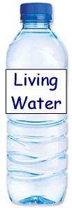"""Living Water"" bottle"