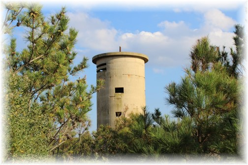 WW2 lookout tower in Delaware (photo by Duke)