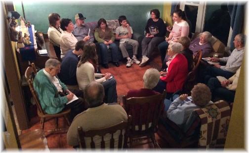 Open house fellowship 1/19/14