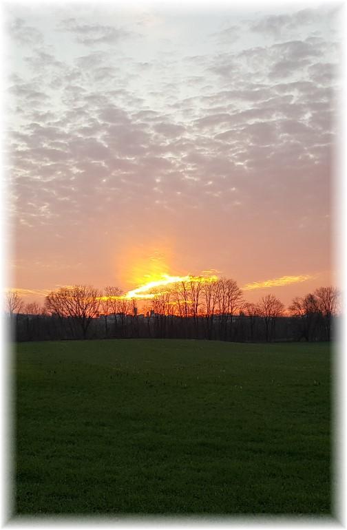 Sunset 12/7/16