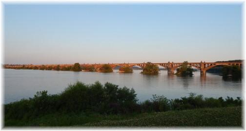 Columbia/Wrightsville bridge 7/16/17 (Ester)