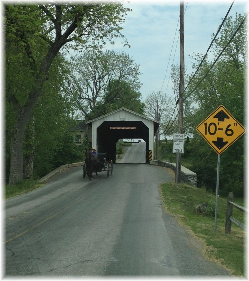 Eshelman's Mill Covered Bridge 5/16/15