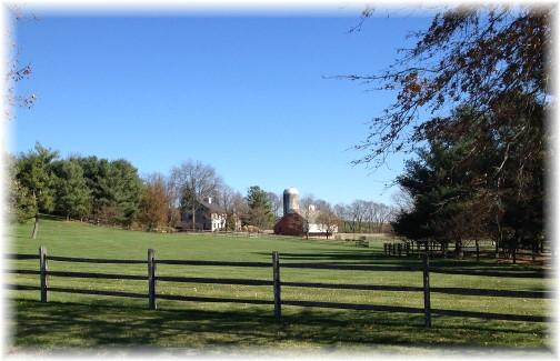 Lancaster County farm scene (Click to enlarge)