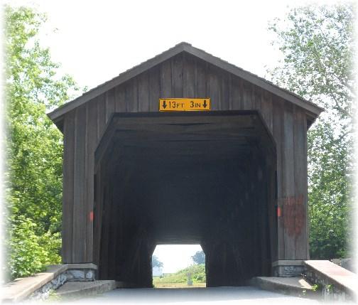 Hunsecker's Mill Covered Bridge 06-20-13