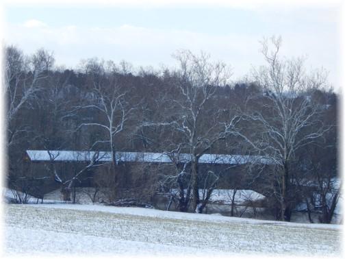 Hunsicker Covered Bridge 2/18/18