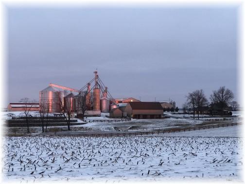 Lancaster County sunrise 2/6/18