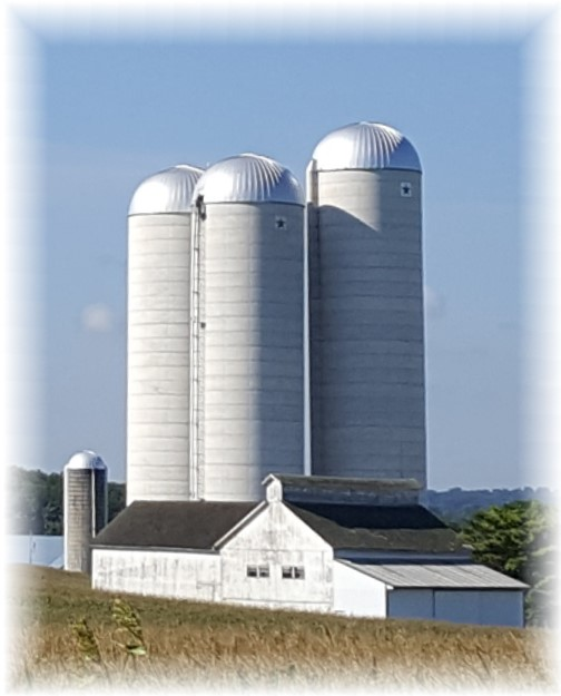 Lancaster County tall silos 8/26/16