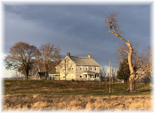 Donegal Springs farmhouse 11/23/17 (Click to enlarge)