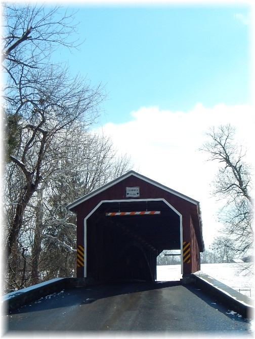 Pinetown Covered Bridge, Lancaster County PA 2/18/18