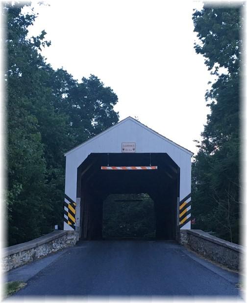 Schenck's Mill covered bridge 6/18/17