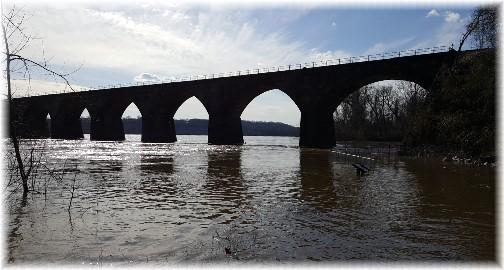 Shocks Mill Railroad Bridge 4/2/17