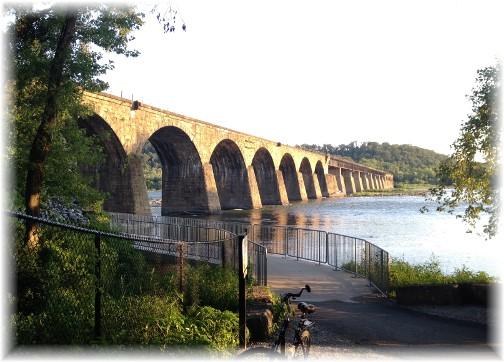 Shocks Mill Bridge, Lancaster County PA 8/3/15