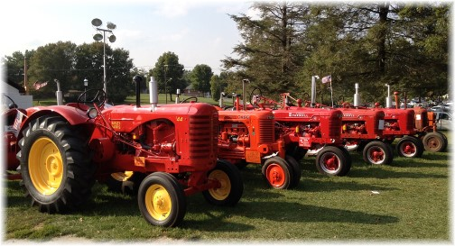 Tractors at Solanco Fair