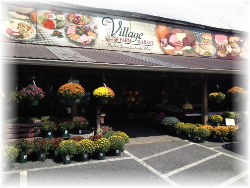 Village Farm Market 9/9/15